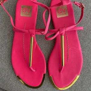 Hot Pink DV by Dolce Vita Sandals, Size 8